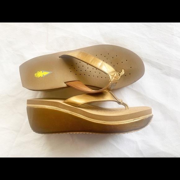 Bronz Volatile Sandals size 9